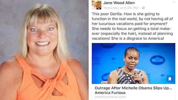 USA: Michelle Obama traitée de gorille par une enseignante blanche