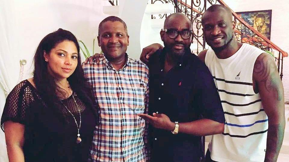 Nigeria: Aliko Dangote invité par les P-Square à une cérémonie particulière...Photos