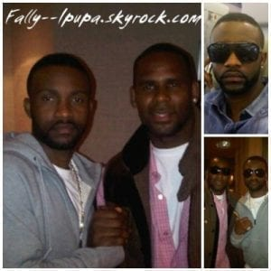 R Kelly annonce son featuring avec Fally Ipupa depuis les USA
