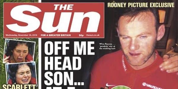 Wayne Rooney qui prétend être blessé, aperçu ivre et faisant la fête: PHOTOS
