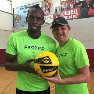 Découvrez le club allemand dans lequel Usain Bolt va s'entrainer...Photos