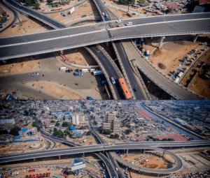 Photos: Le Ghana inaugure l'un des plus grands et beaux échangeurs d'Afrique