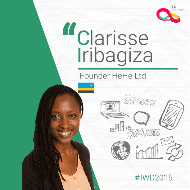 Clarisse Iribagiza remporte un concours entrepreneurial TV avec 50 000 dollars en jeu