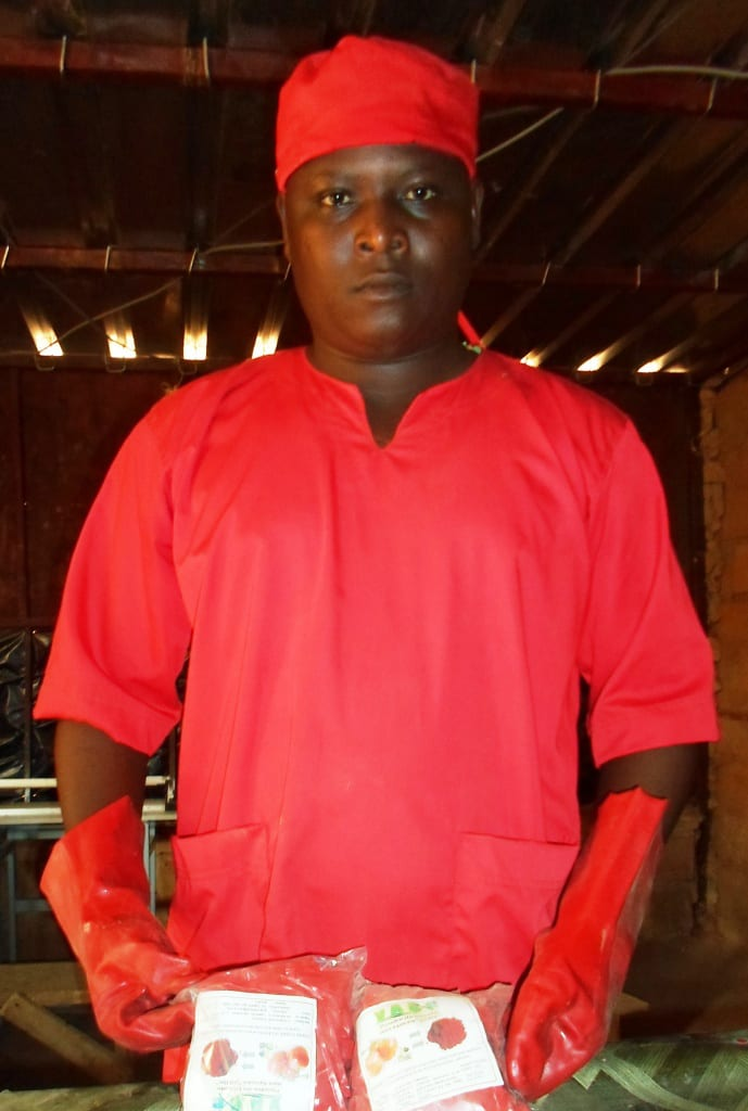 Un nigérien invente un séchoir à charbon minéral qui transforme et conserve la tomate