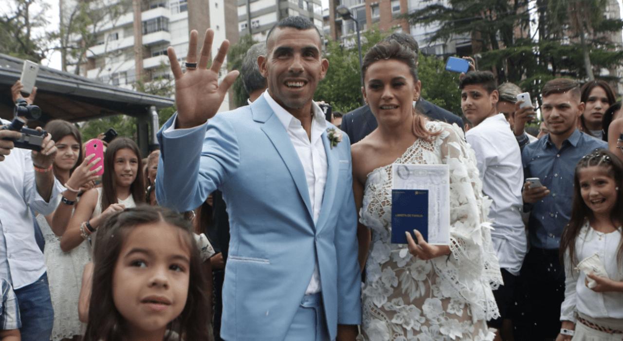 Carlos Tévez rencontre une mauvaise surprise chez lui après son mariage