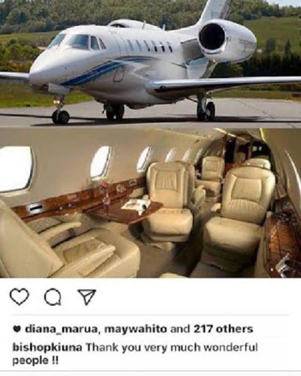 Un pasteur kenyan crée l'indignation en exhibant un jet privé reçu de ses fidèles: PHOTOS