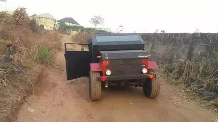 Inspiration: Alex Ephraims, le Nigérian qui fabrique des voitures (PHOTOS)
