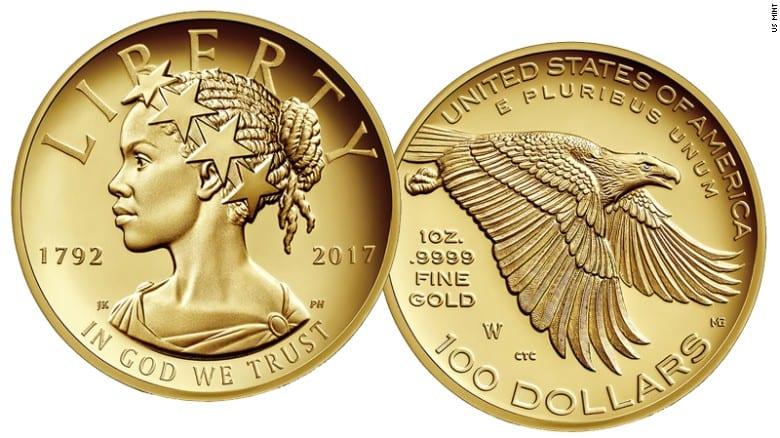 USA: Pour la première fois, il y aura une Lady Liberty noire sur une pièce de monnaie