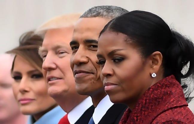 USA: l'investiture de Donald Trump, un moment gênant pour Michelle Obama...Explications