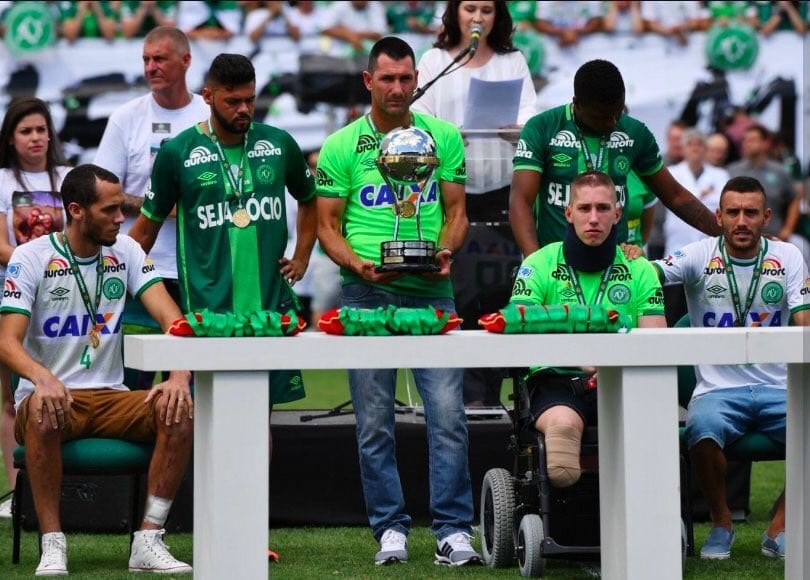 Deux mois après le drame du crash, l'équipe brésilienne Chapecoense a rejoué