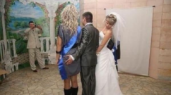 Incroyable! Ces photos de mariage vous feront surement rire à mort