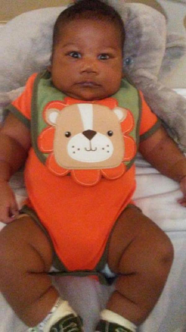 Loyalty Adonis, le bébé d'un mois plus gros qu'un enfant de 2 ans: PHOTOS