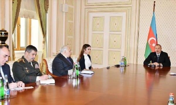 Le président azerbaïdjanais nomme son épouse  vice-présidente