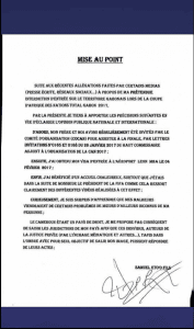 Affaire de mœurs avec Ali Bongo: Samuel Eto'o réagit et décide de poursuivre les auteurs