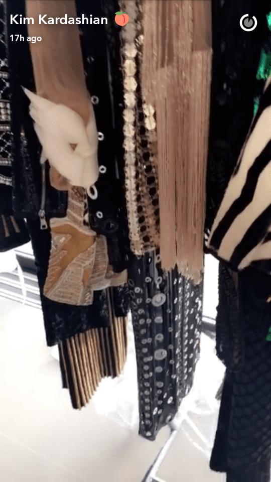 Kim Kardashian révèle ce qu'elle garde secrètement pour sa fille: PHOTOS