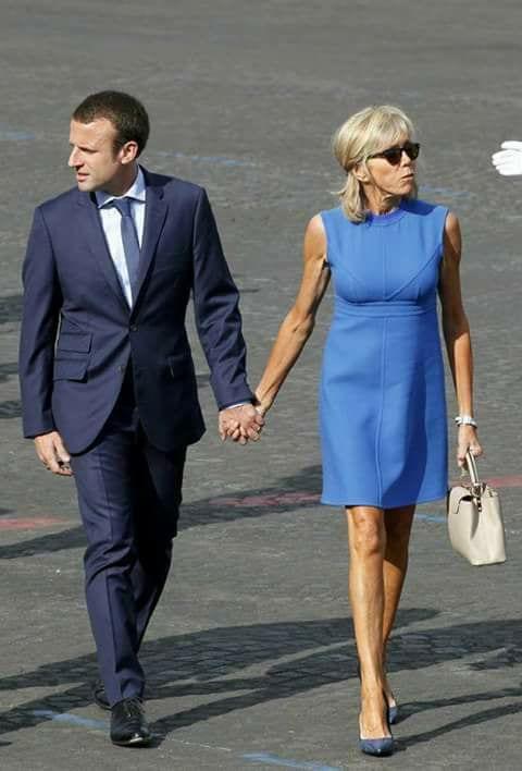 France: Macron, 40 ans, et sa femme Brigitte 64 ans. Un couple qui suscite la polémique