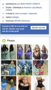 L'ivoirienne Eudoxie Yao: la fille qui vaut ''20 millions FCFA la nuit''