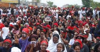 manifestation femmes abobo