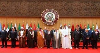 Les dirigeants arabes au sommet de la Ligue arabe