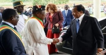 Paul Biya au départ