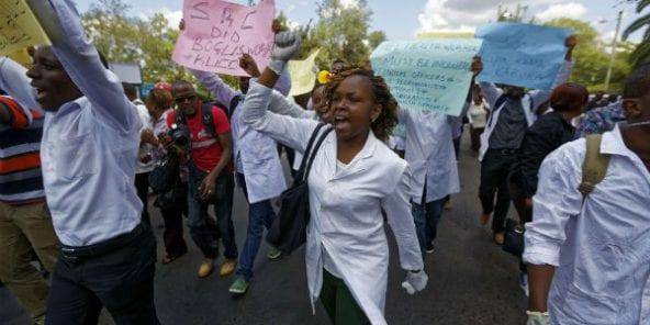 Kenya : des médecins radiés pour avoir réclamé une augmentation de salaire
