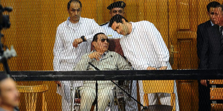 Egypte: Hosni Moubarak acquitté pour les meurtres de manifestants en 2011