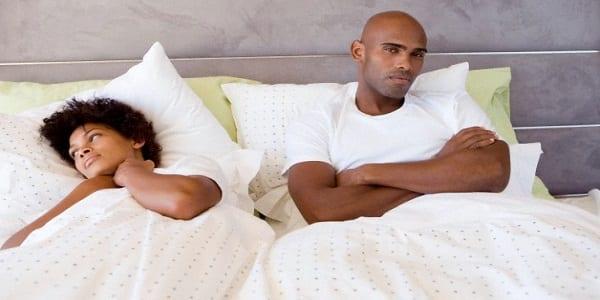Voici 6 raisons pour lesquelles votre femme peut refuser de vous satisfaire s3xuellement