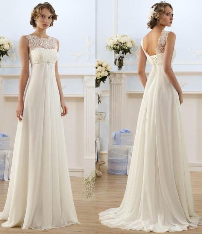 Quelle robe de mariee pour morphologie en 8