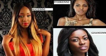 Belles femmes d'Afrique de l'Ouest