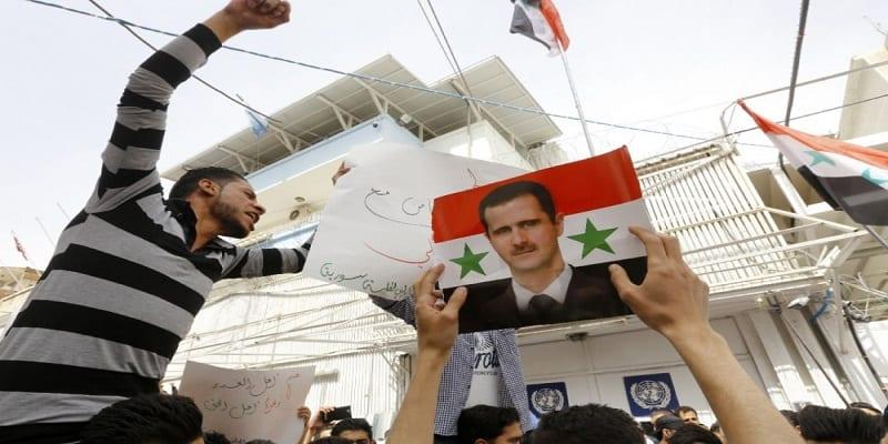 Etudiants Syriens