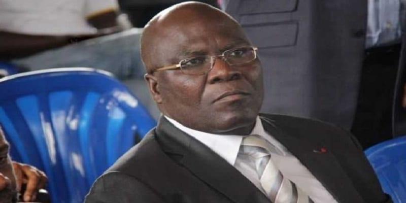 Le ministre Amani N'guessan