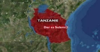 Tanzanie Map