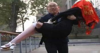 Un chinois se marie avec son robot