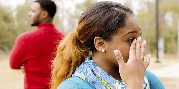 Quatre situations douloureuses qu'on peut provoquer par l'adultère