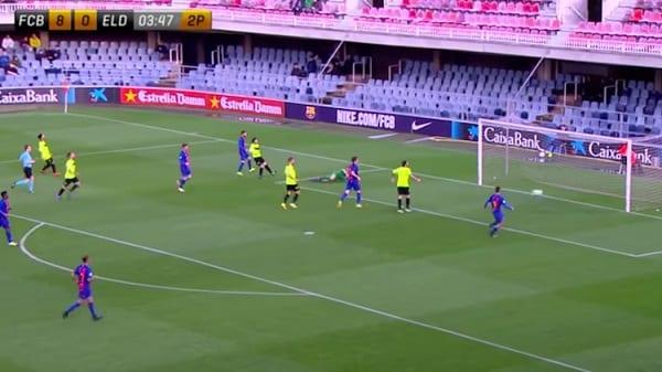 Un entraîneur arrêté pour la défaite de son équipe 12-0 face à l'équipe B de Barcelone. Les raisons!
