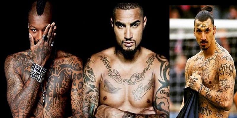 découvrez en photos 10 footballeurs, rois de tatouages - afrikmag