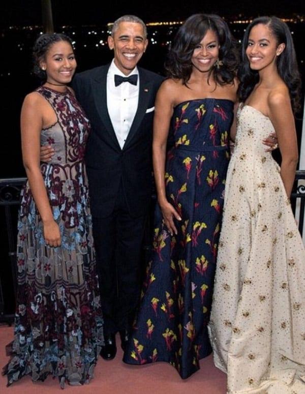 USA: Michelle Obama révèle comment ses filles ont passé leur dernière nuit à la maison blanche