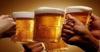 La bière et les amis