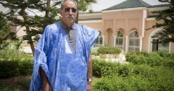 Le défunt président mauritanien Vall