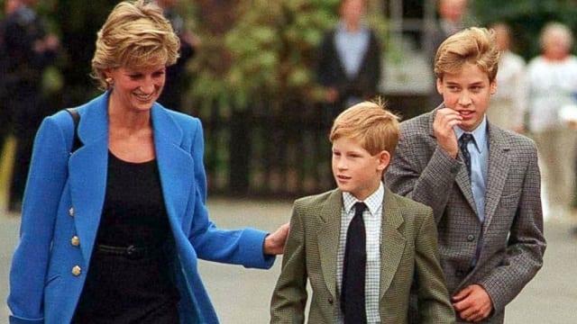 Angleterre: Prince Williams révèle des choses bouleversantes sur la mort de sa mère Lady Diana