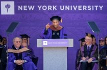New York University 2017 Commencement