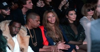 P.-Diddy-Jay-Z-Beyonce-Kim-Kardashian-et-Anna-Wintour-au-defile-Kanye-West-x-Adidas