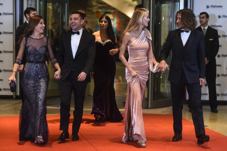 Mariage de Lionel Messi: Eto'o, Xavi, Fabregas, Puyol, et beaucoup d'autres footballeurs étaient de la fête...photos