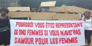 Côte d'Ivoire: les femmes manifestent contre la représentante de L'ONU Femmes