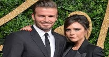 Le couple beckham..