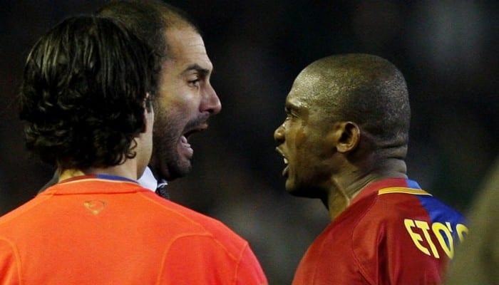 Samuel Eto'o s'en prend à Pep Guardiola : « C'est moi qui ai fait gagner Barcelone » (vidéo)