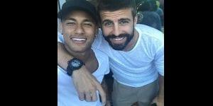 Le FC Barcelone très furieux de voir Messi, Piqué et Suarez aux côtés de Neymar