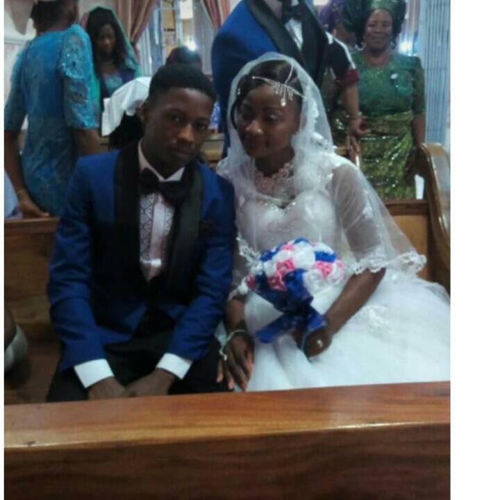 Nigeria: deux adolescents se disent oui pour la vie, la toile s'enflamme (photos)