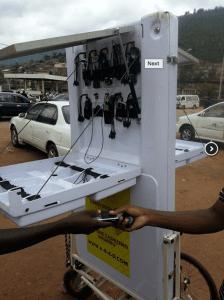Rwanda : des kiosques mobiles pour se connecter à internet