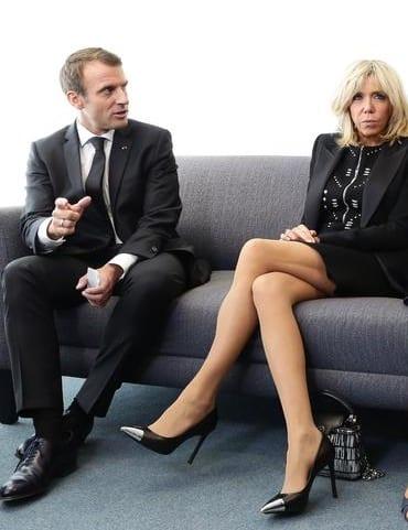 Ces Robes de Brigitte Macron qui suscitent la polémique à New-York